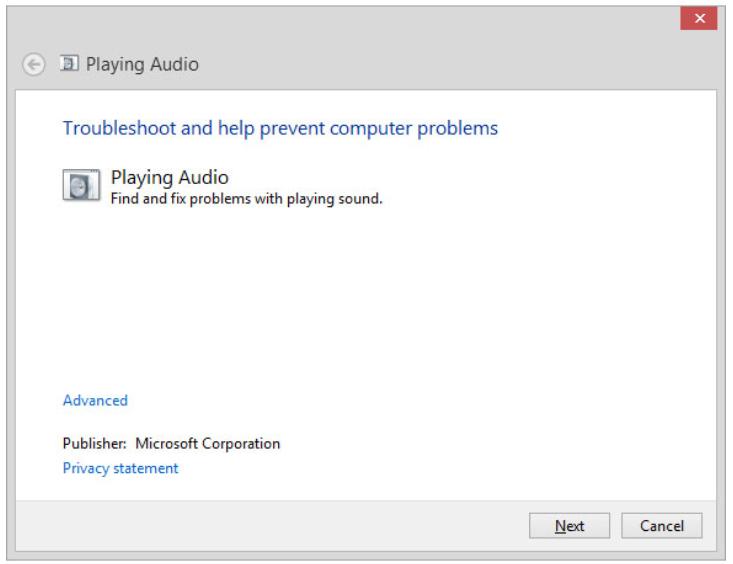 Troubleshoot audio playback