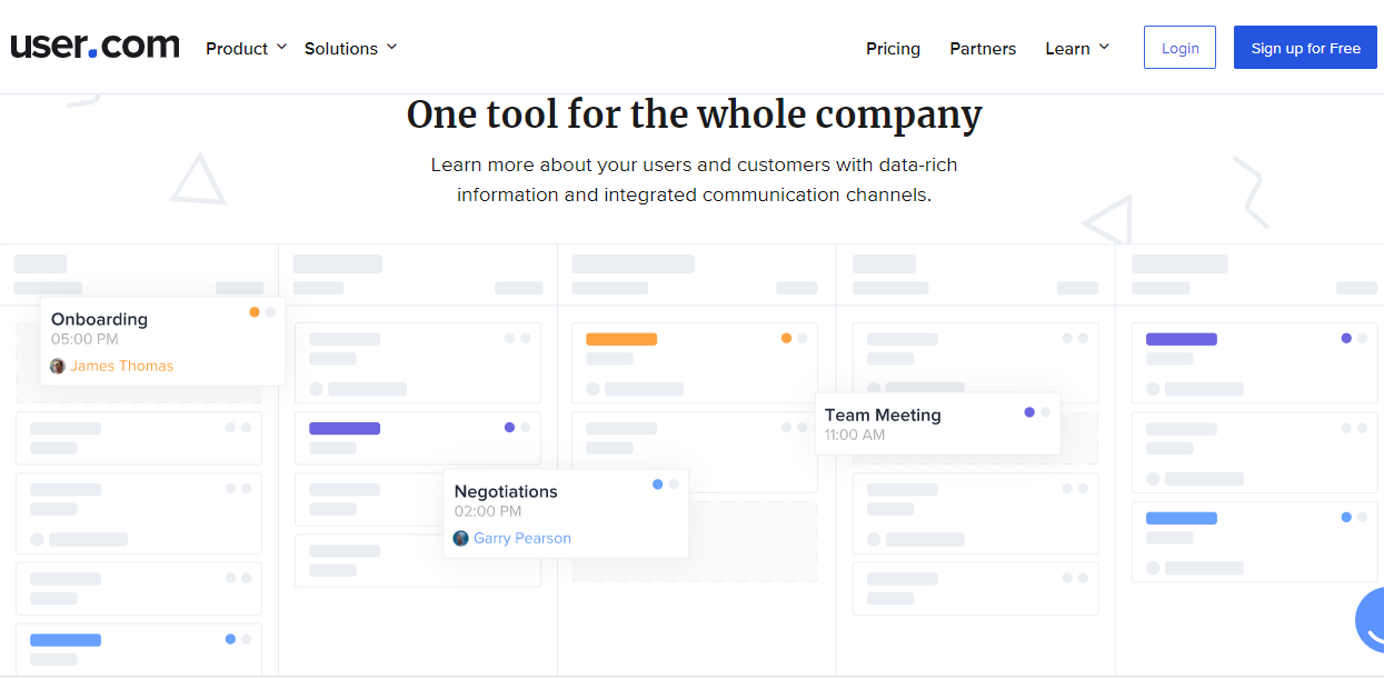 User CRM Software