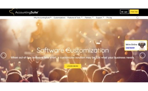 AccountingSuite order management software
