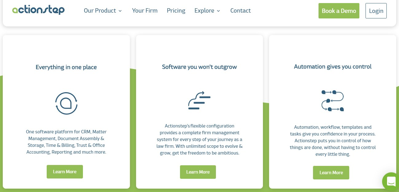 ActionStep Legal Practice Management Software