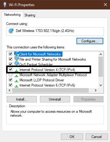 IPV4 option