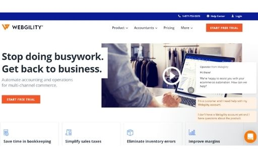Webgility order management system software