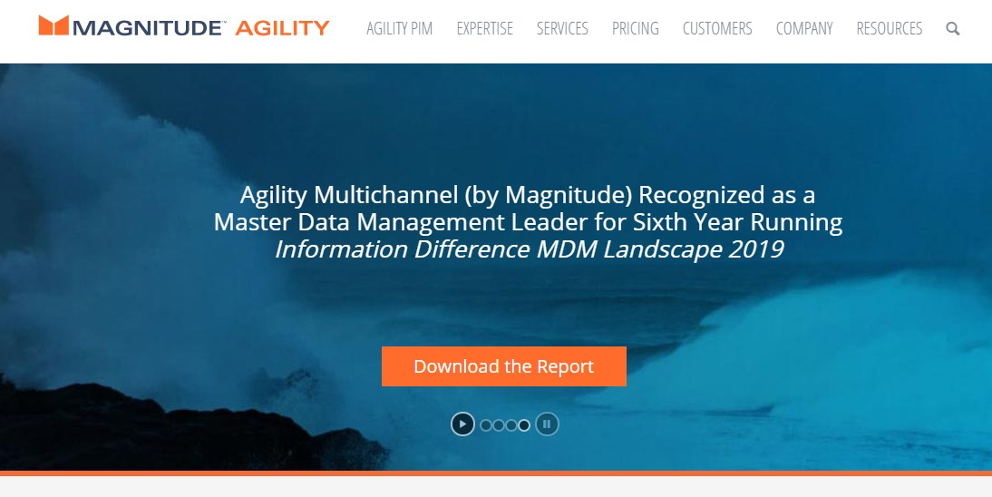 Agility Multichannel Product Information Management Software