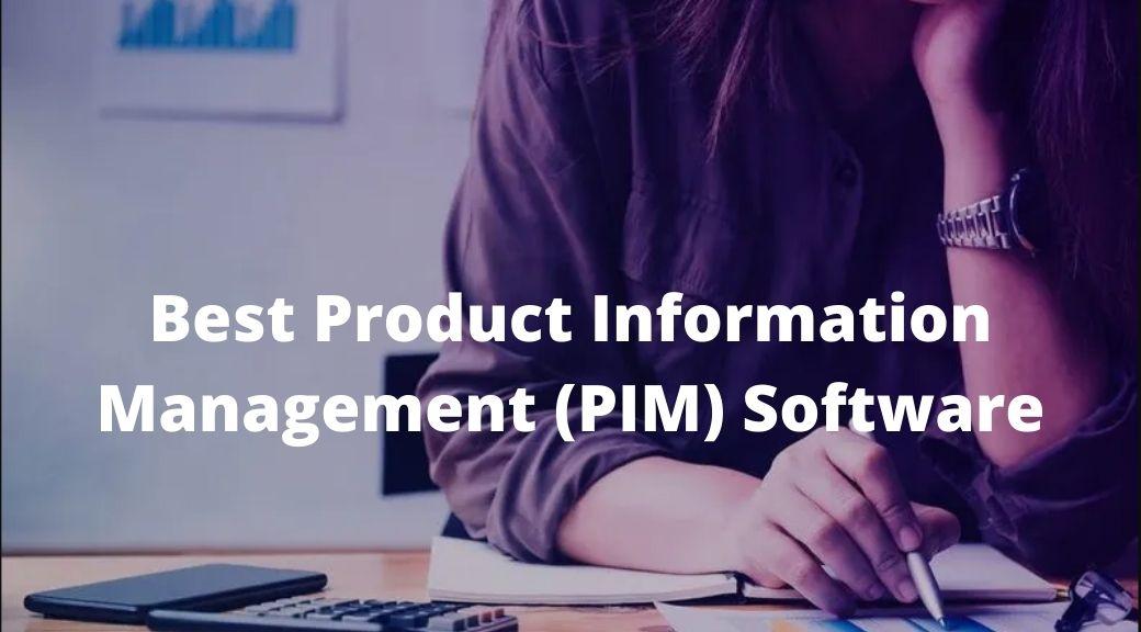 Best Product Information Management (PIM) Software