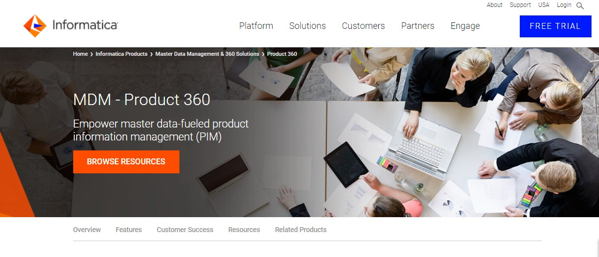 Informatica MDM Product 360 Product Information Management Software