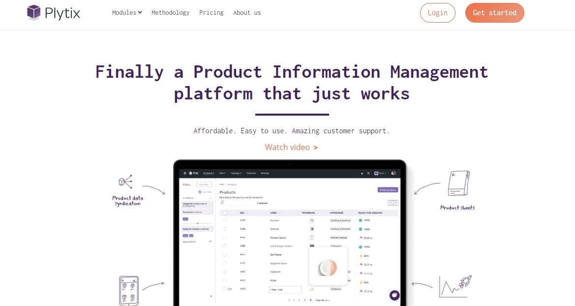 Plytix Product Information Management Software