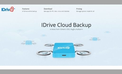 IDrive Cloud Backup Software