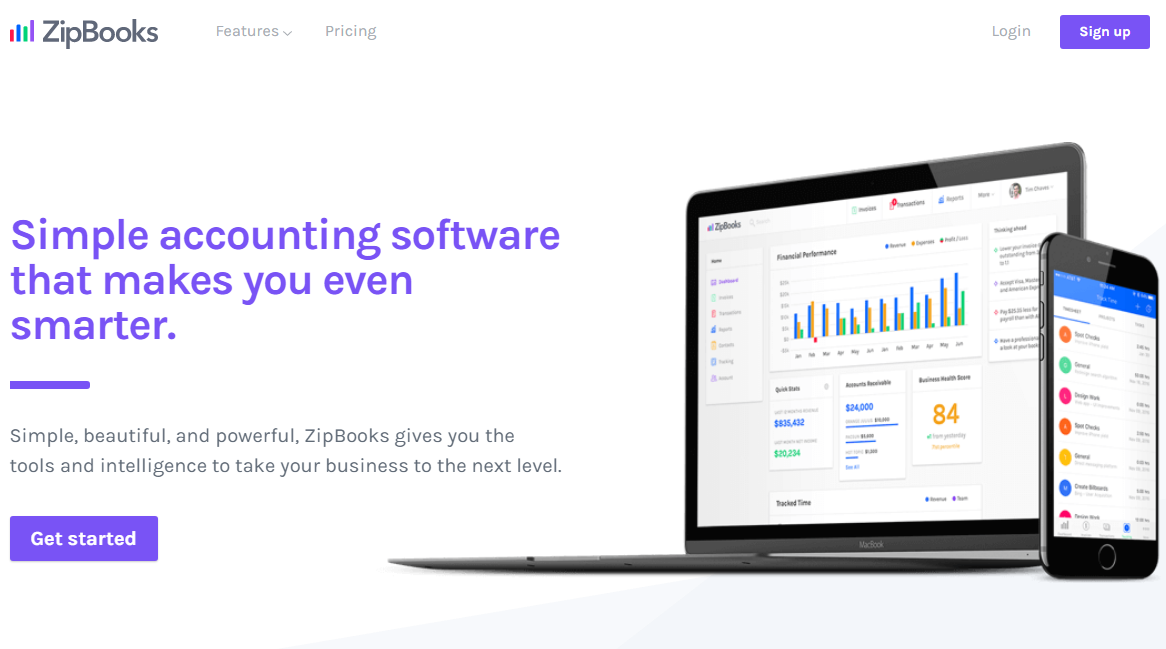 ZipBooks Free Invoicing Software