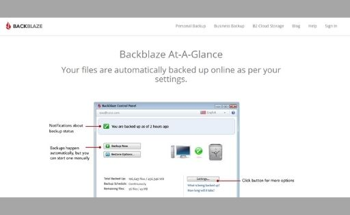 backblaze backup software