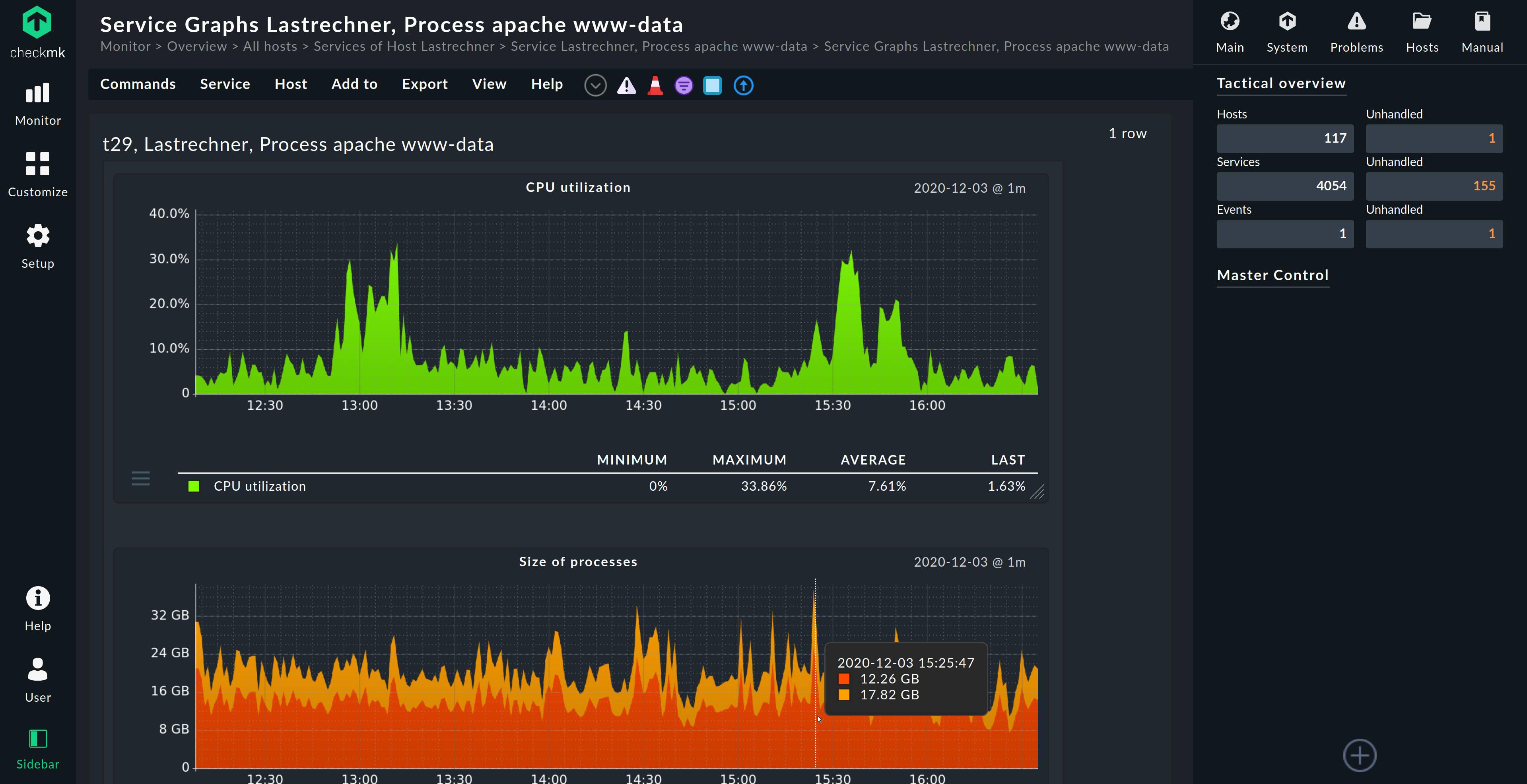 checkmk server monitoring software