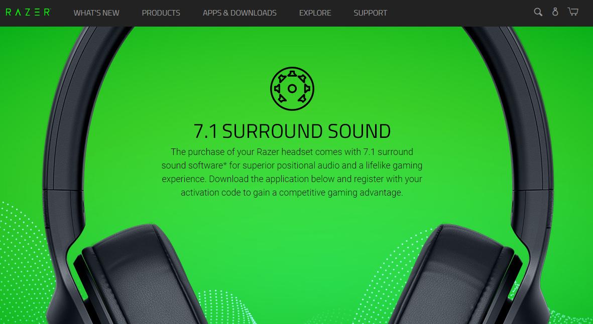 Razer Surround audio equalizer for windows 10