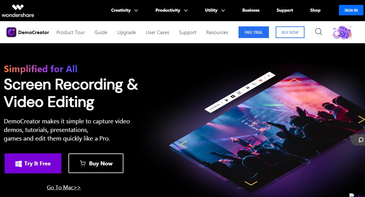DemoCreator screen recording software