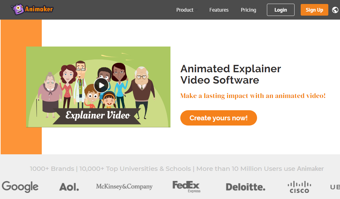 Animaker Explainer Video Software