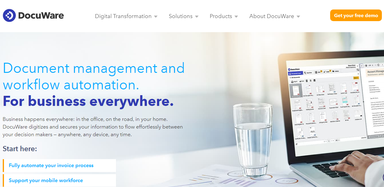 Docuware Document Management Software