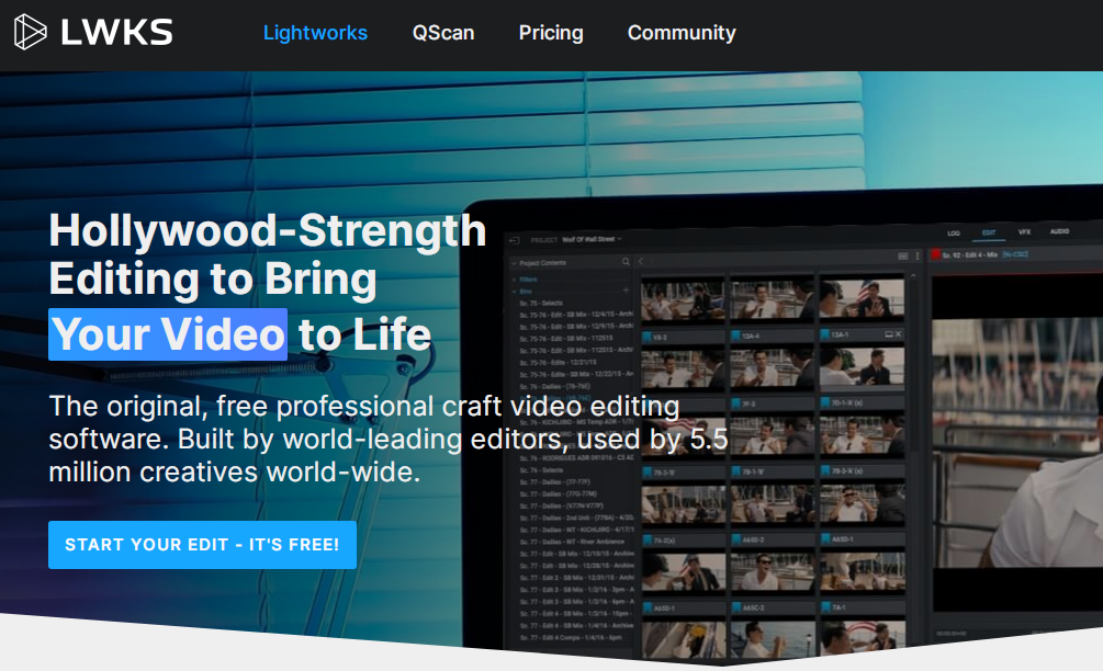 LightWorks 14 Video Editing Software