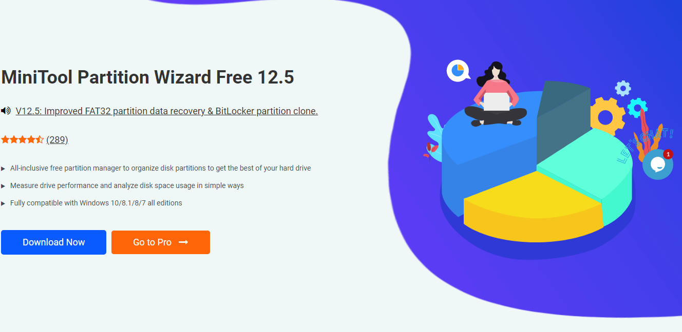 MiniTool Partition Wizard Data Migration Software