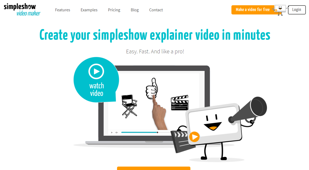 Mysimpleshow Explainer Video Software