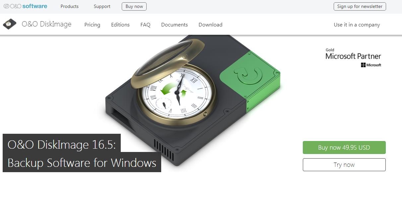 O & O Diskimage Backup Software