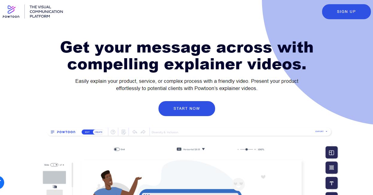 Powtoon Explainer Video Creator