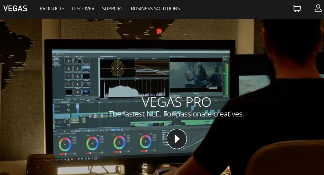 Vegas Pro 365 Video Editing Software