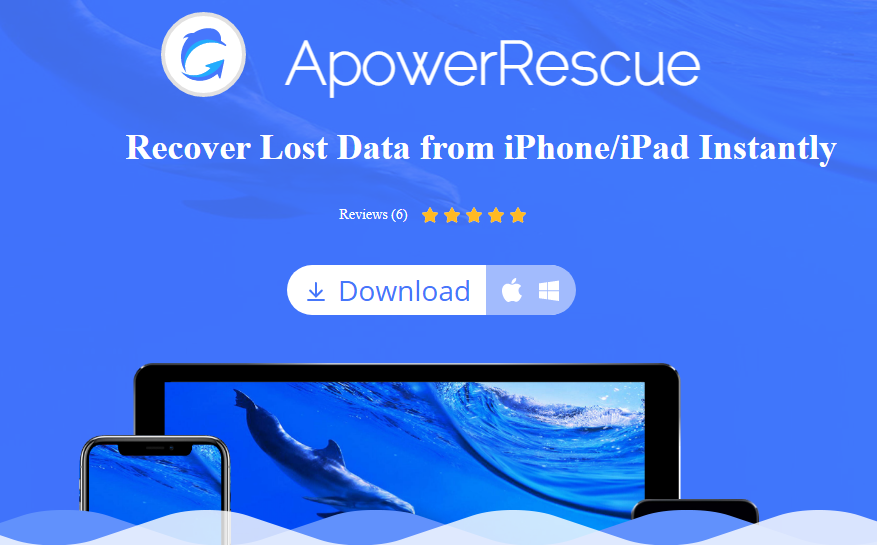 ApowerRescue iPhone Data Recovery