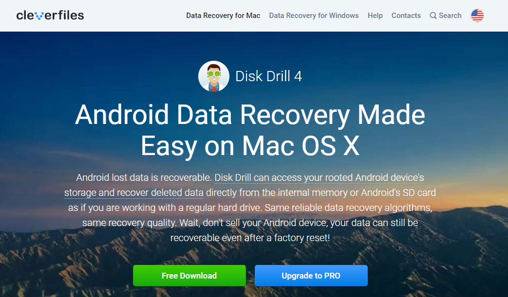 Disk Drill android data recovery software