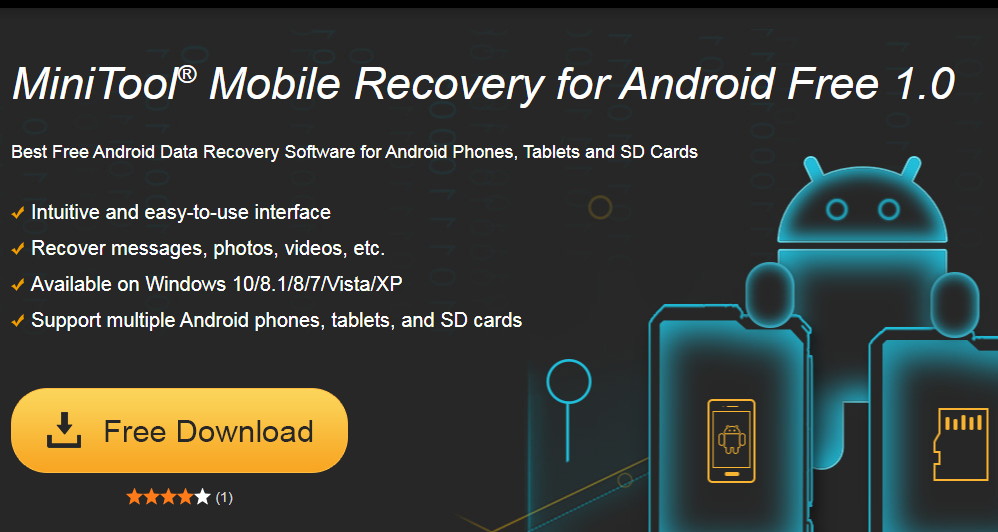 MiniTool Mobile Data Recovery for Android