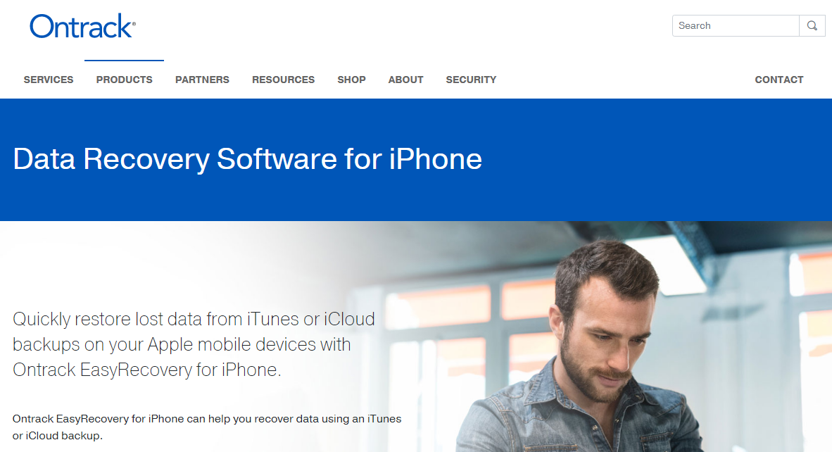Ontrack iPhone Data Recovery Software