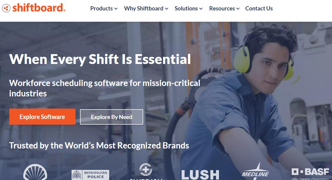 Shiftboard Employee Scheduling Software