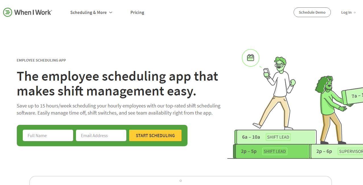 WhenIWork Employee Scheduling Software