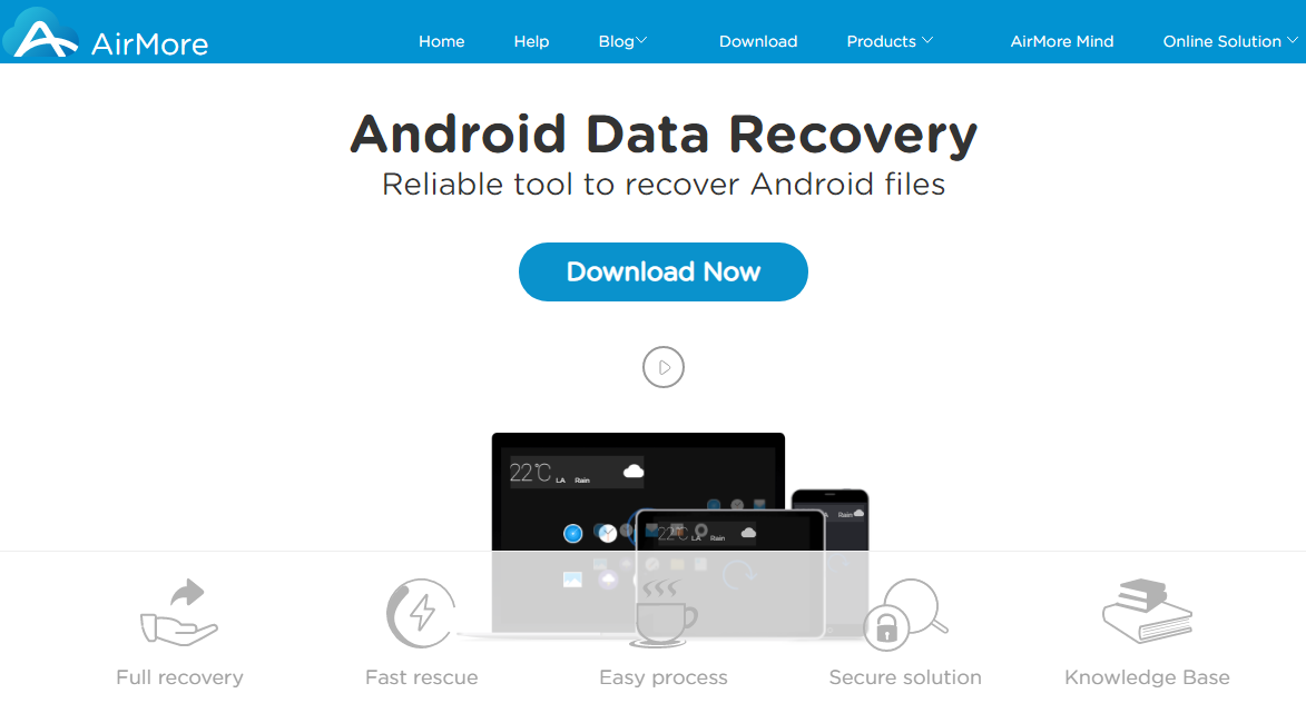 airmore android data recovery software