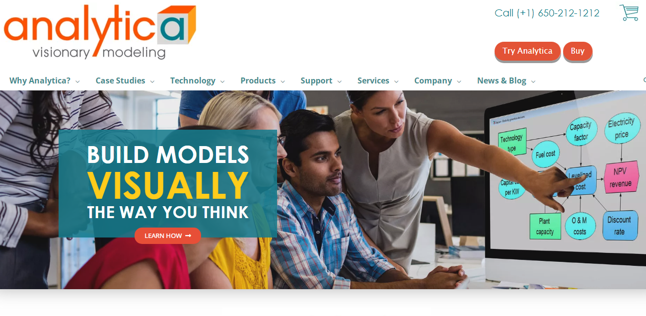 Analytica Visionary Modeling